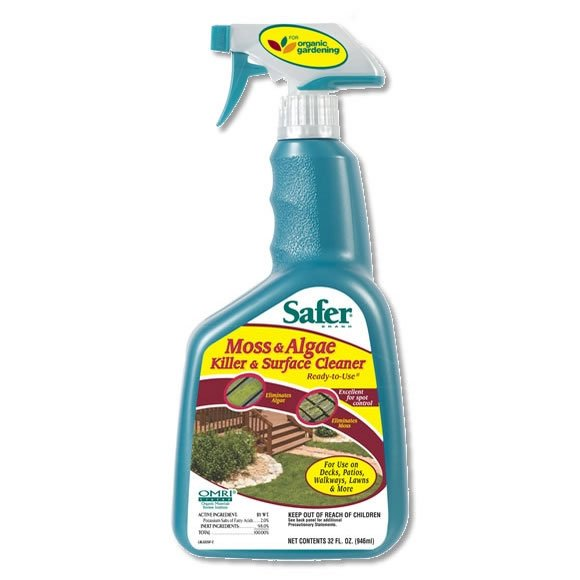 Safer Brand Moss and Algae Killer - 32 oz. Best Price