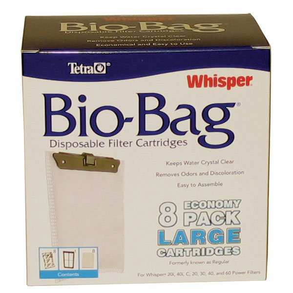 Whisper Bio Bag Cartridges / / Large/8pk./rta