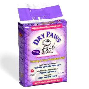 Dry Paws Dog Training / Floor Protection Pads / Size (7 pack/Small) Best Price