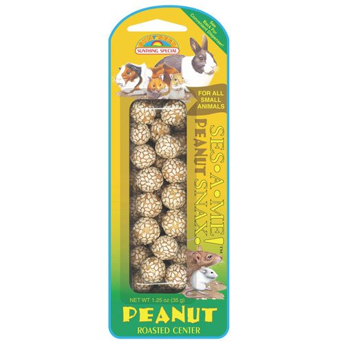 Ses-a-Me Snax Peanut - Small Pet - 1.25 oz. Best Price