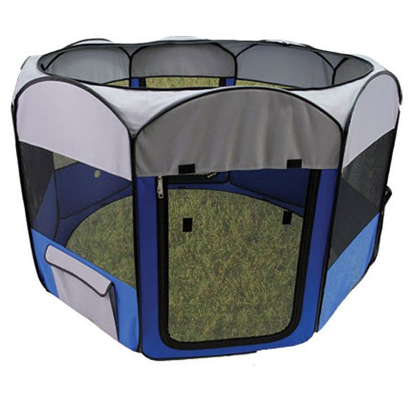 Dog Playpen : Deluxe Pop-Up Playpen for Small Dogs or Cats Rabbit Products ...