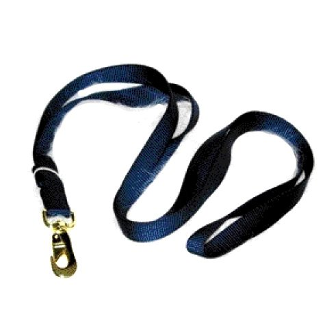 Nylon Lead with Snap - 7 ft / Navy Best Price