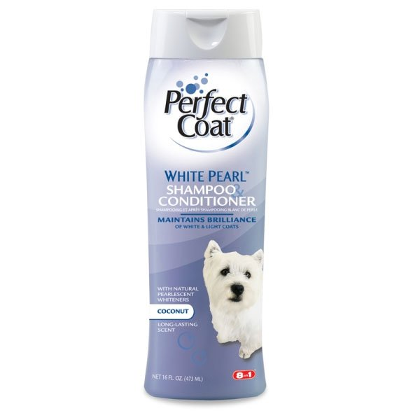 Perfect Coat White Pearl Shampoo Conditioner 16 Oz.