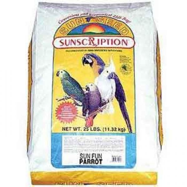 Sun Fun Parrot Food and Treat - 25 lb. Best Price