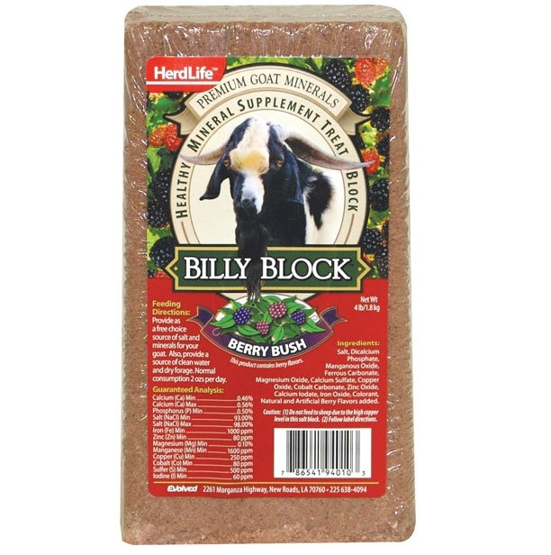 Billy Block for Goats 4 lbs. Best Price
