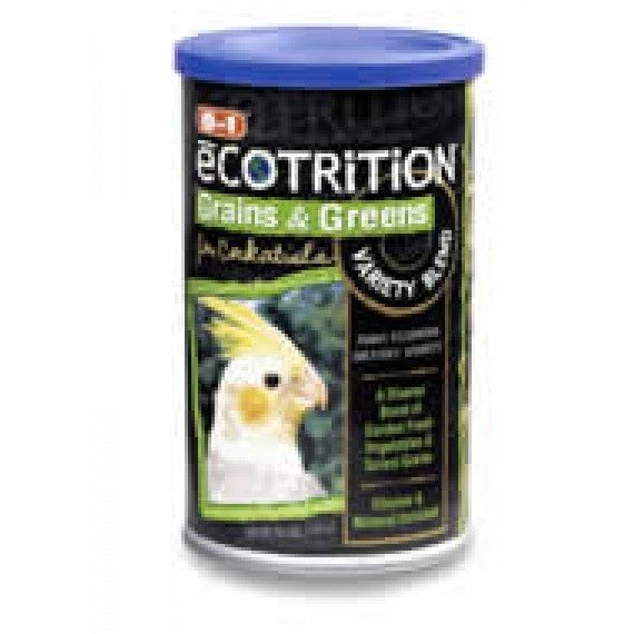 Ecotrition Grains And Greens Variety Blend Cockatiel / 6.5 Oz.