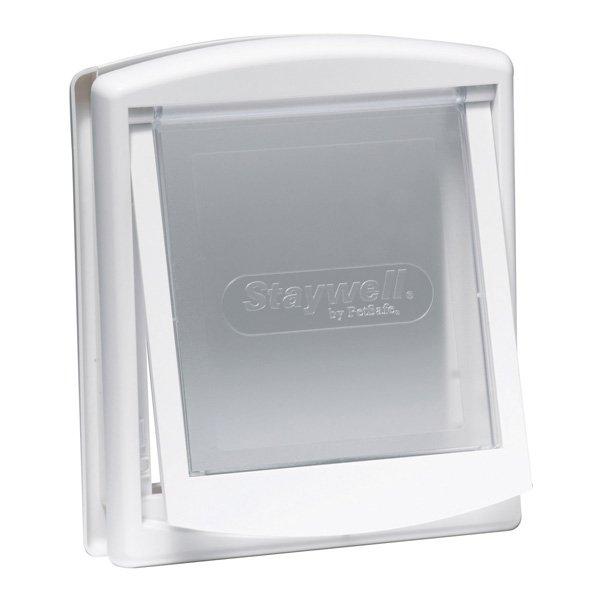 Premium Flap Pet Door / Size Medium White