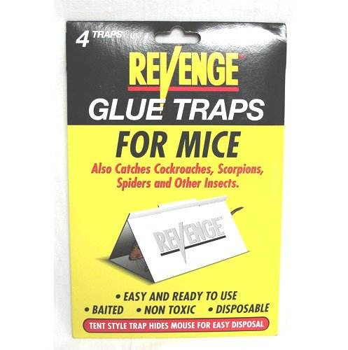 Revenge Glue Board Mice - 4 traps Best Price