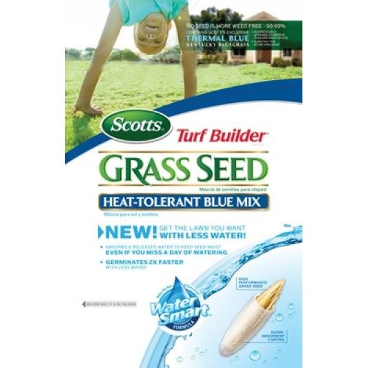 Heat Tolerant Blue Mix Grass Seed - 20 lbs Best Price