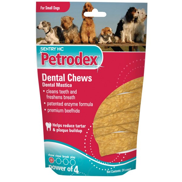 Petrodex Dental Chews And Strips / Size 8 Ounces