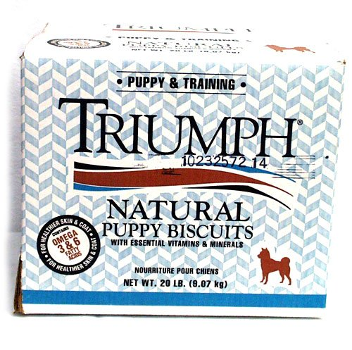 Puppy Natural Biscuits 20 Lbs