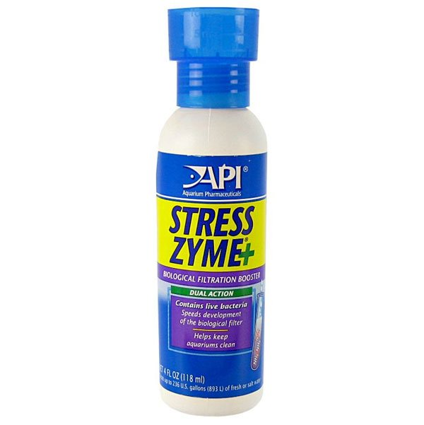 Stress Zyme Aquarium Water Conditioner / Size 4 Oz.