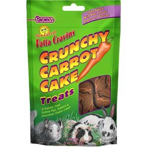 Falfa Cravins Crunchy Carrot Treats for Small Pets 5 oz. Best Price