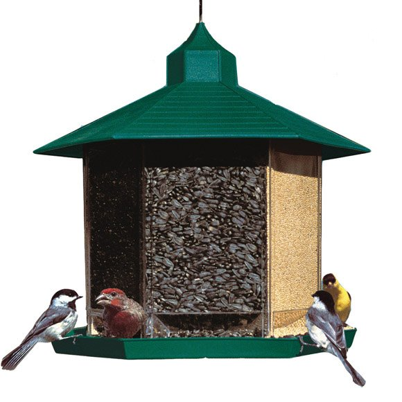 Triple Treat Birdfeeder - 5 qts Best Price