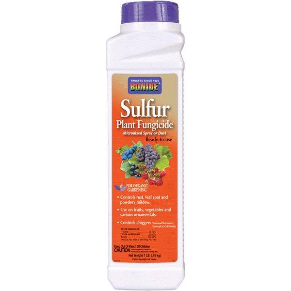 Sulfur Fungicide Dust 1 lb Best Price