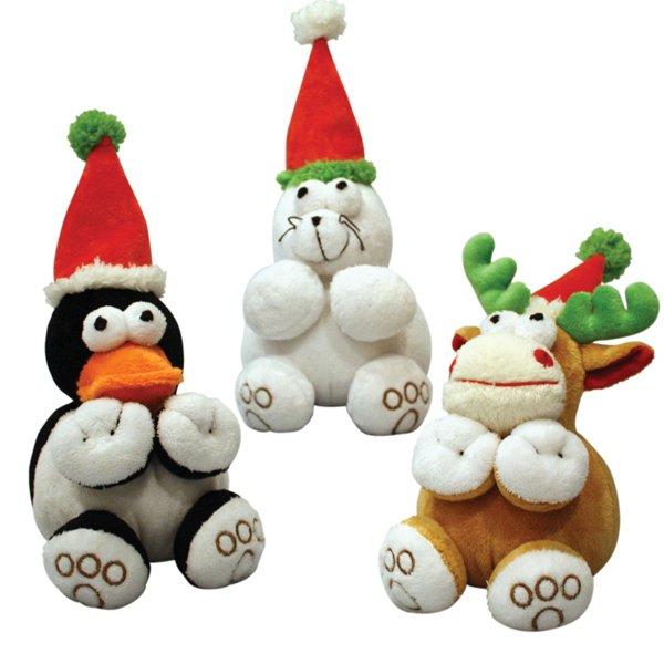 Holiday Dog Chubz Toy 6 Inch
