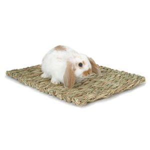 Rabbit And Small Animal Woven Grass Mat Medium