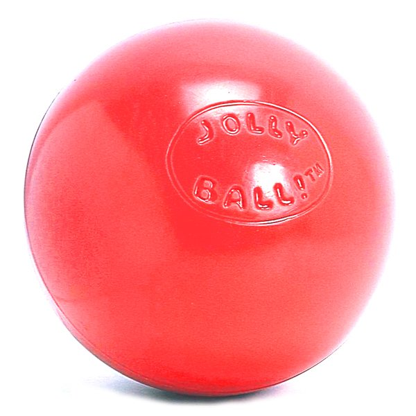 Push and Play Dog Ball / Size (6 in/Red)