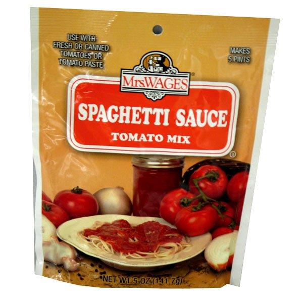 Spaghetti Sauce Tomato Mix 5 oz Best Price