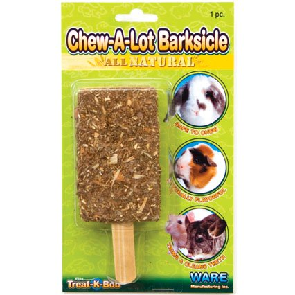 Chew-A-Lot Barksicle Wood Treat for Small Pets Best Price