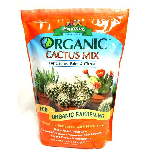 Organic Cactus Mix 4 qt. Best Price