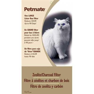 Zeolite Filter Cat Litter Box Filter / Size Large