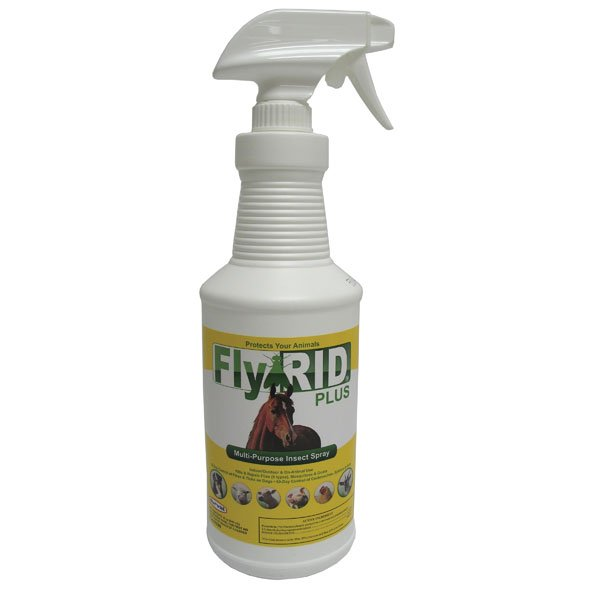 Durvet Fly-Rid Plus Insect Control - 32oz. w/sprayer Best Price