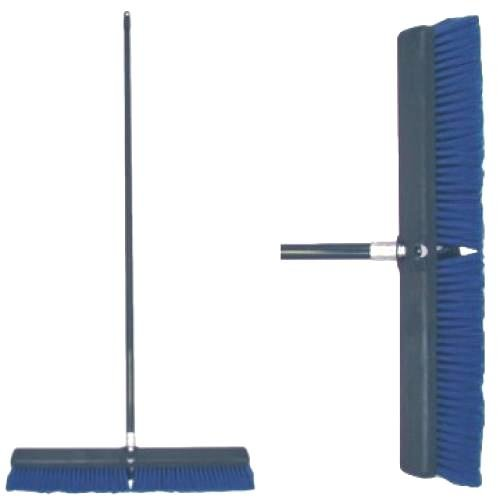 Poly Flagged Push Broom With Handle - 24 inch Best Price