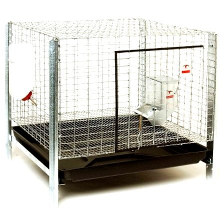 Complete  Rabbit Hutch Kit - 24 x 24 in. Best Price