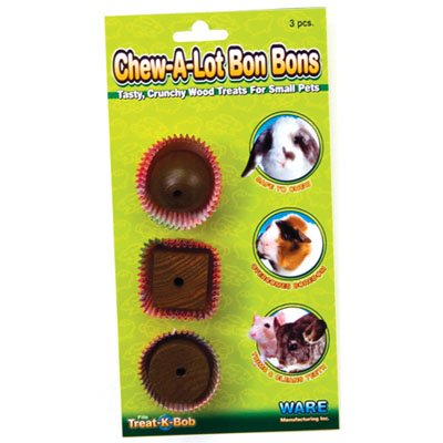 Chew-A-Lot Bon Bons Wood treats for Small Pets