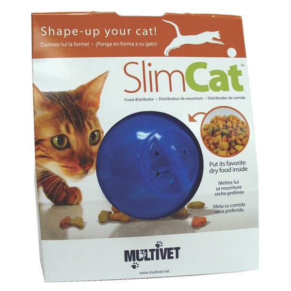 Slimcat Cat Food Ball / Color Blue