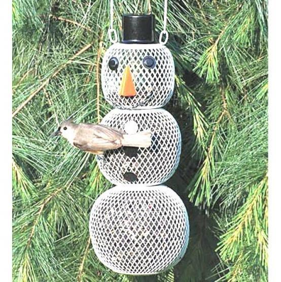 No/no Snowman Bird Feeder Case Of 6