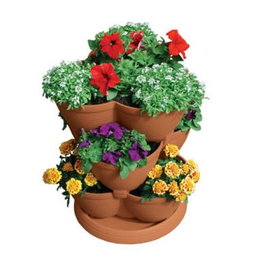 Stack-A-Pot Stackable Planter Best Price