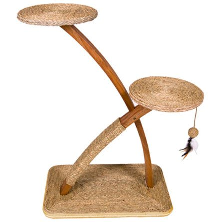 Earthly Elements Cat Scratcher and Perch - 33X16.5X40.5 Best Price