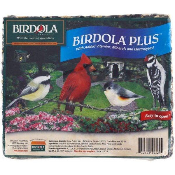 Birdola Plus Junior Wild Bird Cake 6.5 Oz.