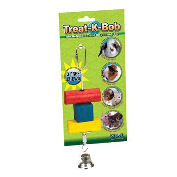 Treat-K-Bob Reusable Treat Dispenser for Small Animals Best Price
