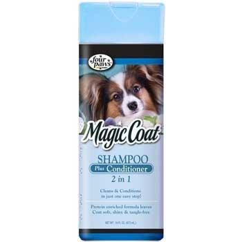 Magic Coat 2 In 1 Dog Shampoo Plus Conditioner 16 Oz.