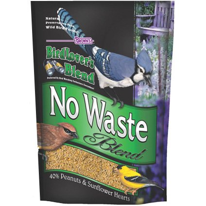BirdLovers Blend No Waste Bird Seed / Size (40 lb) Best Price