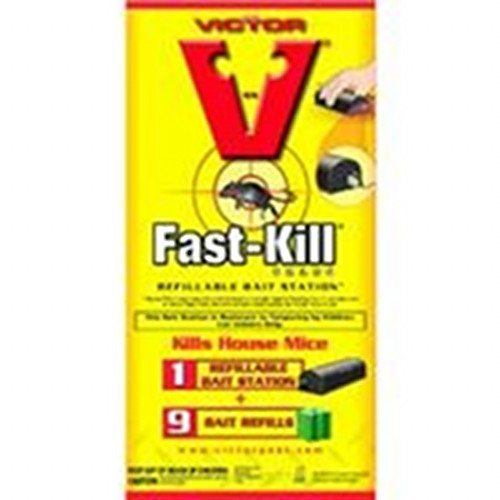 Victor Fast-kill Refillable Bait Stations 9 ct. Best Price