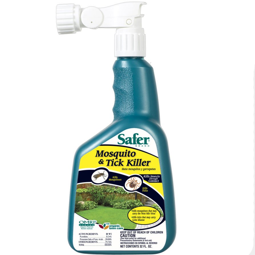 Safer Brand Mosquito and Tick Killer 32 oz. Best Price