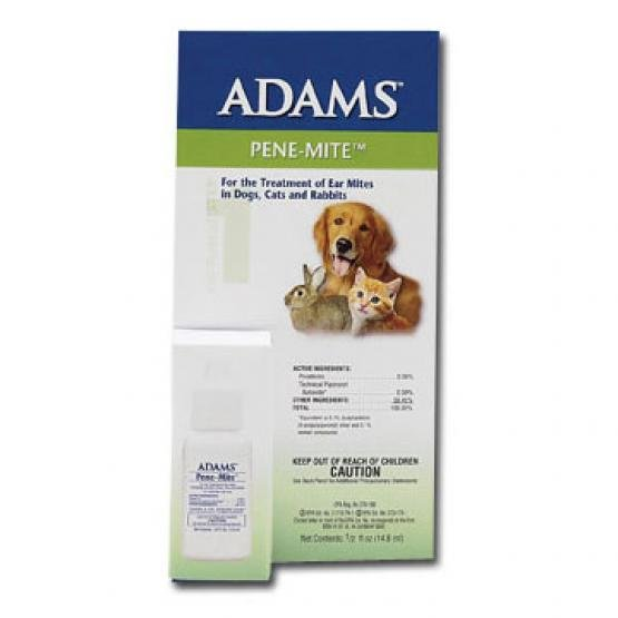Adams Pene-Mite Ear Mite Treatment - .5 oz. Best Price