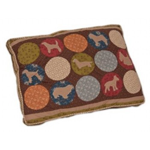 Applique Quilted Gusseted Pet Pillow Bed Best Price
