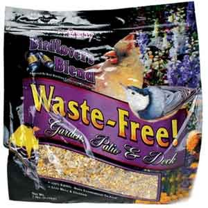 Birdlovers Blend Waste-Free Garden Patio Wild Bird Seed - 7 lb. Best Price