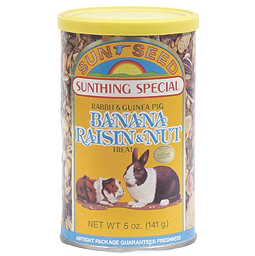 Banana Raisin Nut Rabbit Treat - 5 oz. Best Price