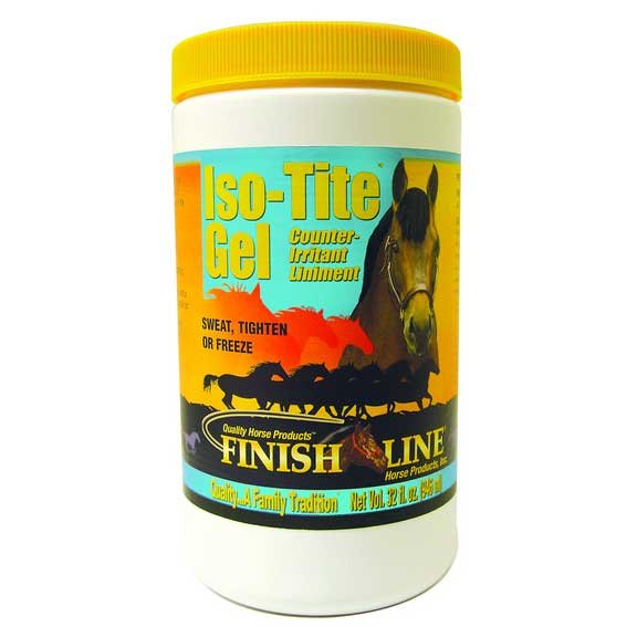 Iso-tite Liniment Gel for Horses - 1 qt. Best Price