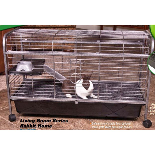 Compare prices of rabbit cages at petazon for Critter ware living room series