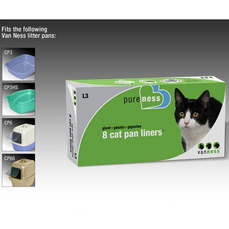 Giant Cat Pan Liners - L3/ 8-pack Best Price