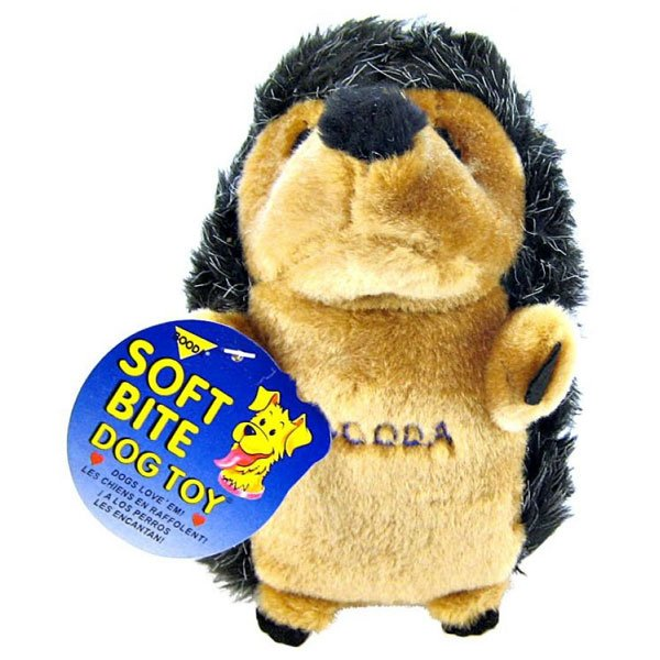 Soft Bite Hedgehog Dog Toy Large