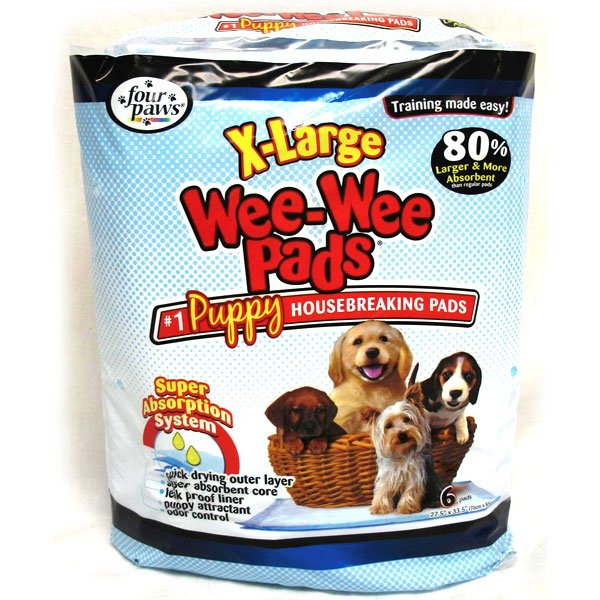 Wee-Wee Pads Puppy Housebreaking Pads / Size (Xlarge/6pk) Best Price