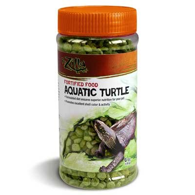 Fortified Aquatic Turtle Food 6.5 oz. Reptile Products - GregRobert